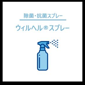 除菌・抗菌スプレー ウィルヘル®スプレー
